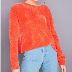 Silence + Noise Chenille Soft Sweater